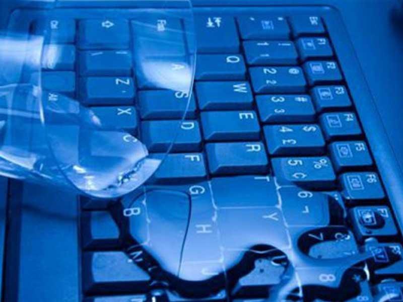 νερο στον υπολογιστη