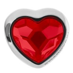 swarovski μενταγιον με καρδια